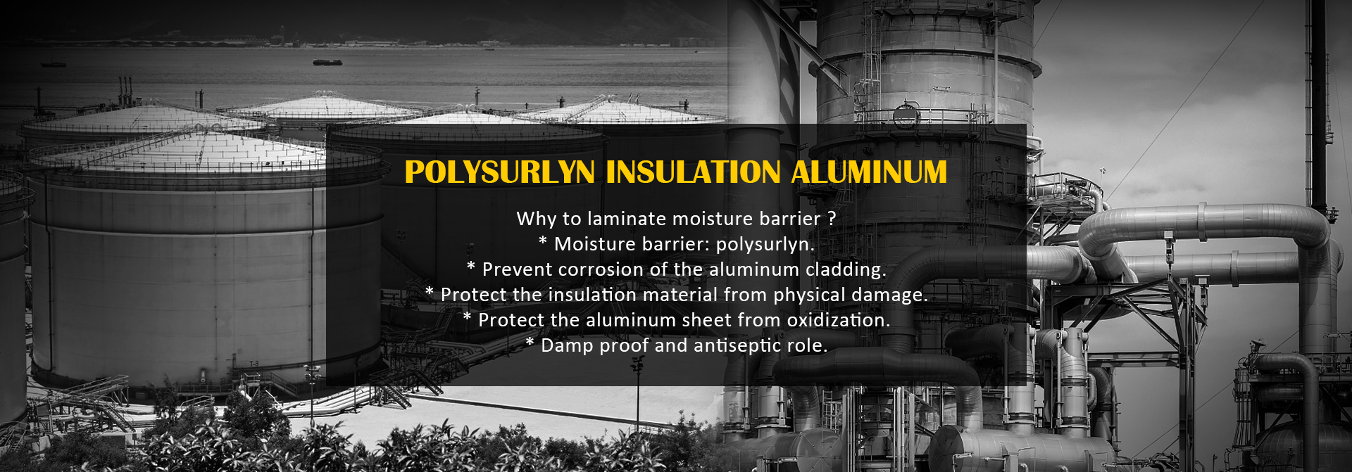 Polysurlyn Insulation Aluminum
