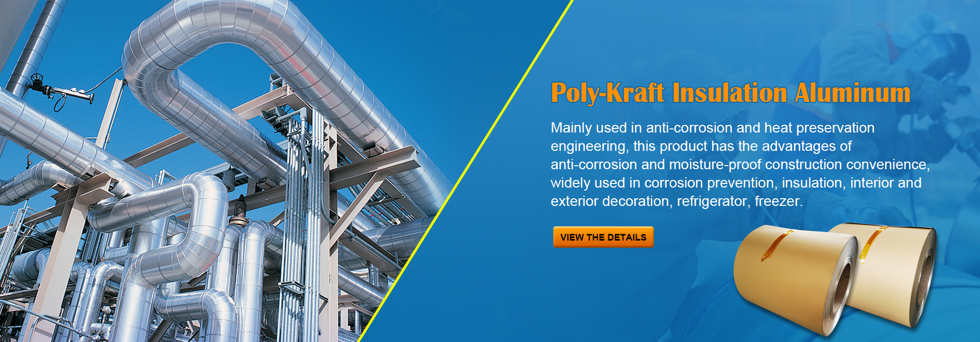 Poly-Kraft Insulation Aluminum